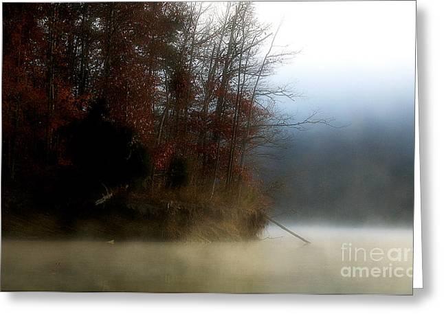 Fall On Melton Hill Lake II Greeting Card