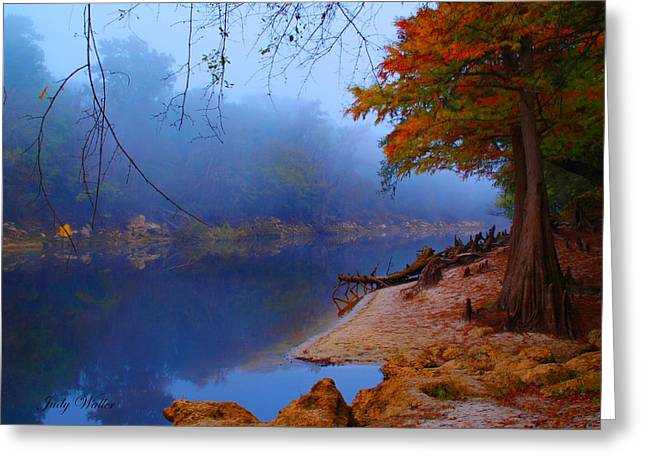 Fall On The Suwannee River Greeting Card