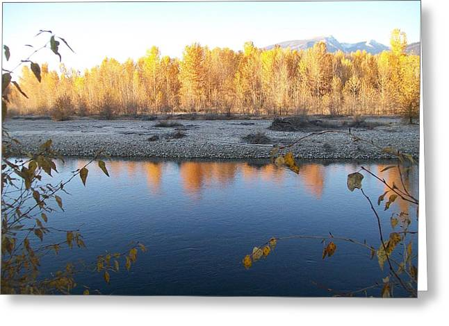 Greeting Card featuring the photograph Fall Reflection 2 by Jewel Hengen