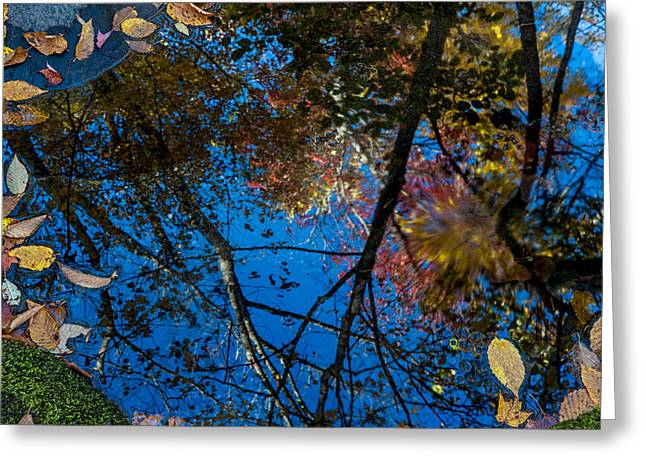 Greeting Card featuring the photograph Fall Reflection by Tyson and Kathy Smith