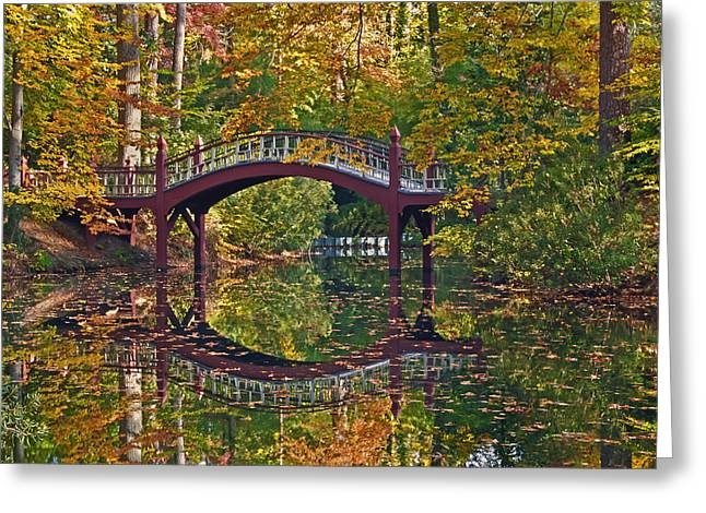 Fall Reflections At Crim Dell Greeting Card