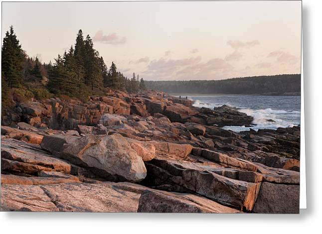 Fall Sunrise In Acadia Greeting Card