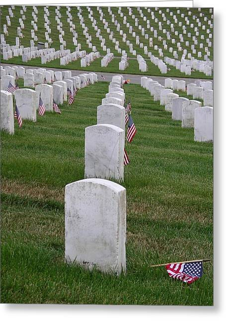 Greeting Card featuring the photograph Fallen Soldier by Cynthia Marcopulos