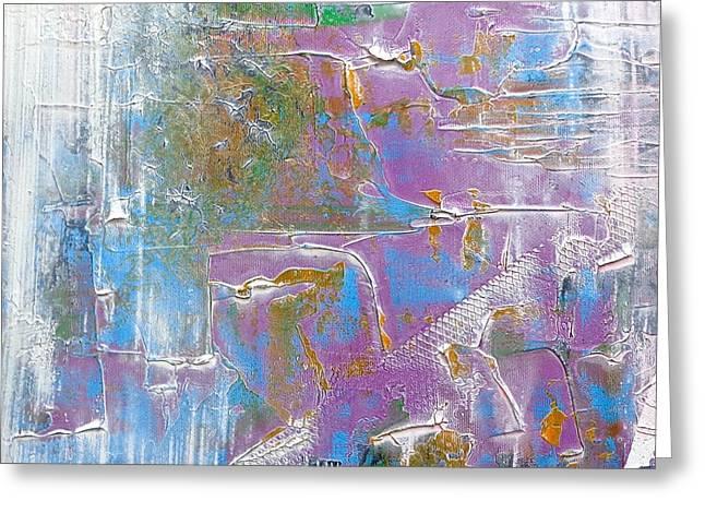 Falling Greeting Card by Rob Van Heertum