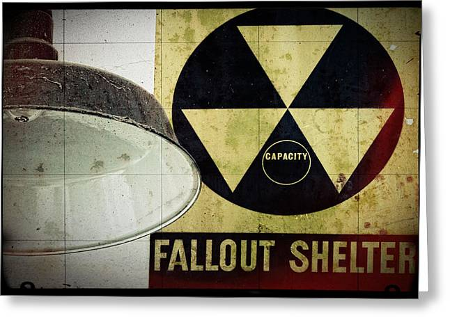 Fallout Greeting Card by Niels Nielsen