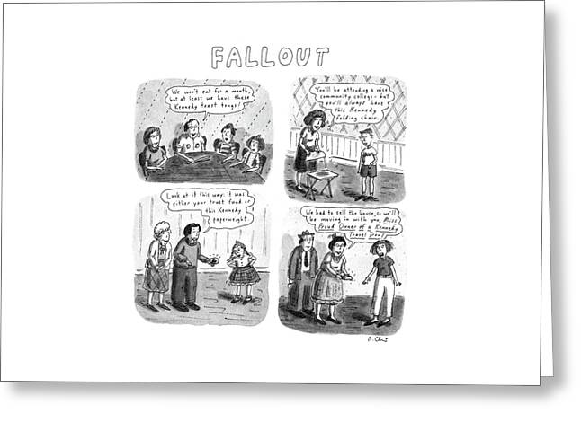 Fallout Greeting Card