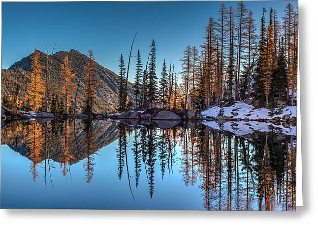 Falls Last Colors Greeting Card by Mike Reid