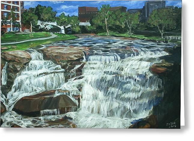 Falls River Park Greeting Card