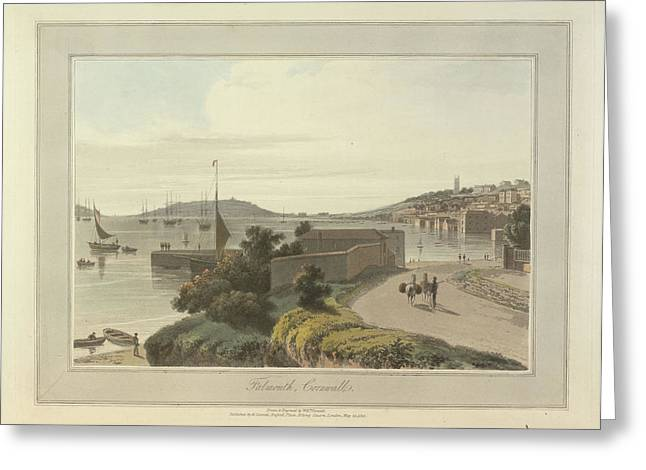 Falmouth Greeting Card by British Library