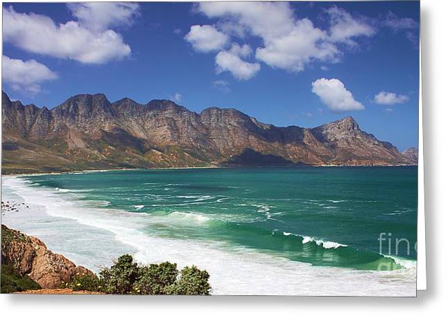 Greeting Card featuring the photograph False Bay Drive by Jeremy Hayden
