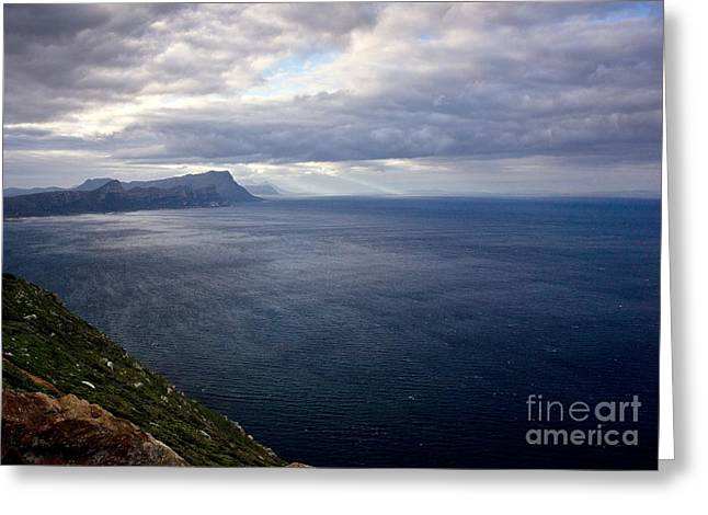 False Bay, South Africa Greeting Card by Bob Gibbons