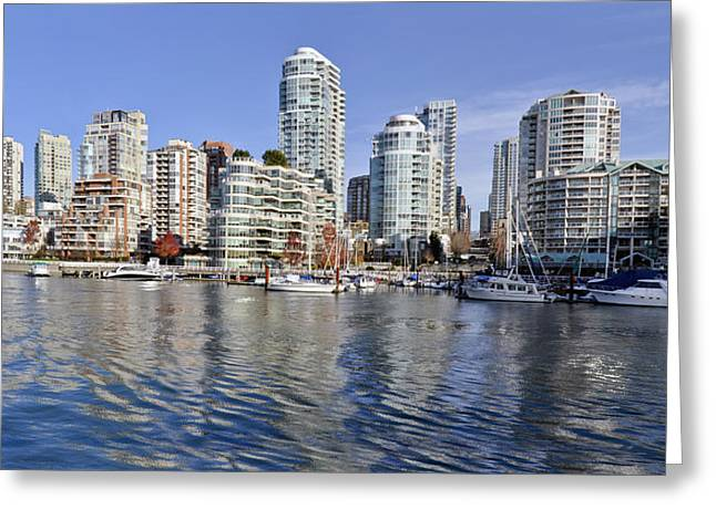 False Creek And Vancouver Greeting Card