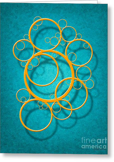 Family Circles Greeting Card by Cristophers Dream Artistry