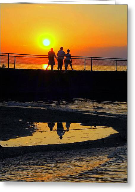 Family Moment Greeting Card