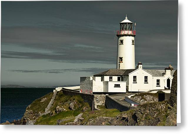 Greeting Card featuring the photograph Fanad Head Lighthouse by Jane McIlroy
