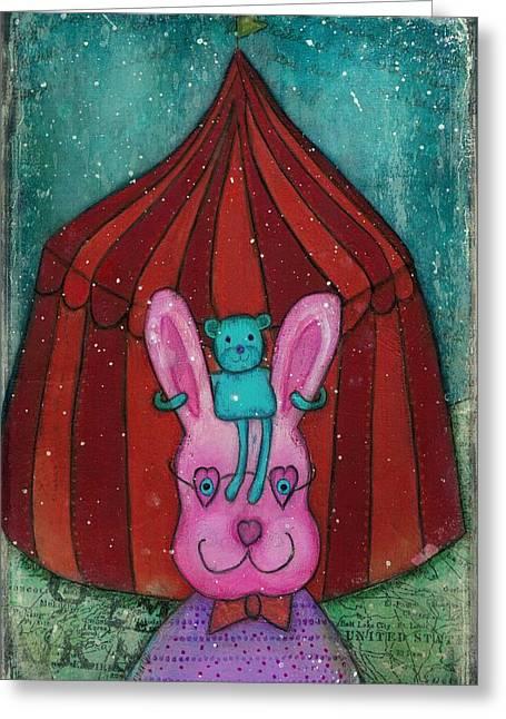 Fanciful Circus Greeting Card