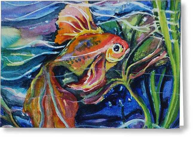 Fanciful Fish Greeting Card