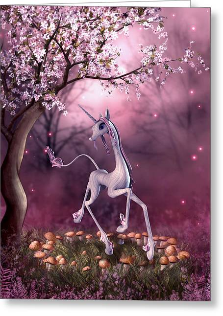 Fancy Unicorn Greeting Card