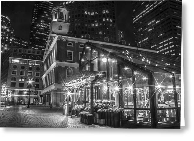 Faneuil Hall And Nursery  Greeting Card