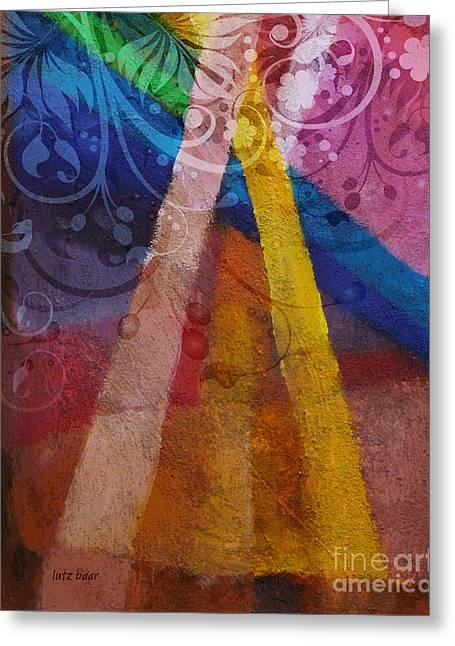 Fantasia Iv Greeting Card by Lutz Baar