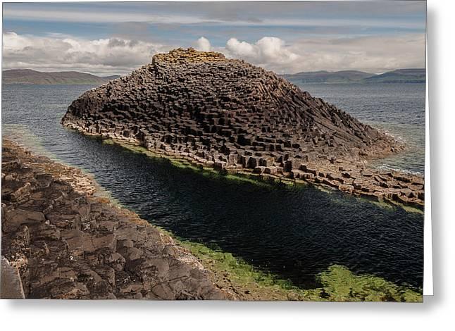 Fantastic Island Greeting Card by Sergey Simanovsky