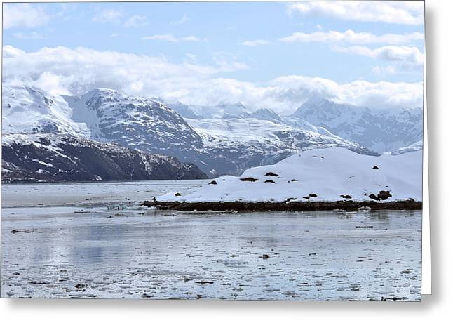 Fantasy In Ice Greeting Card by Judith Russell-Tooth
