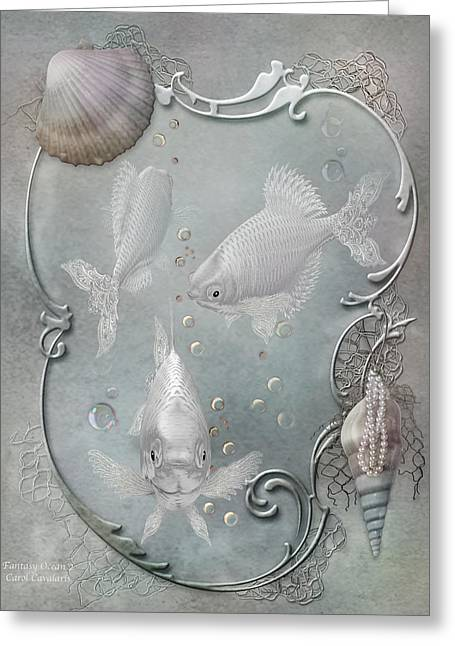 Fantasy Ocean 2 Greeting Card