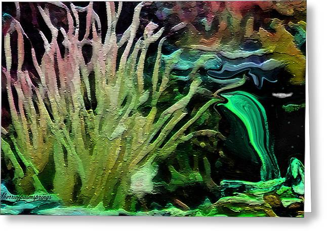 Fantasy Of Coral Reef Greeting Card by Sherri  Of Palm Springs