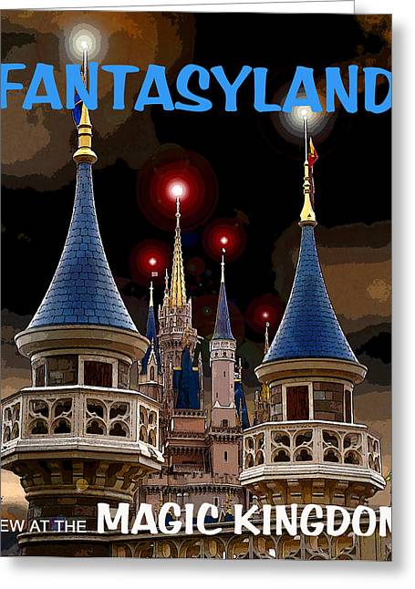 Fantasyland 2012 Greeting Card