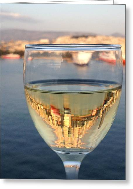 Farewell toast to greece photograph by susan stowe farewell toast to greece greeting card by susan stowe m4hsunfo