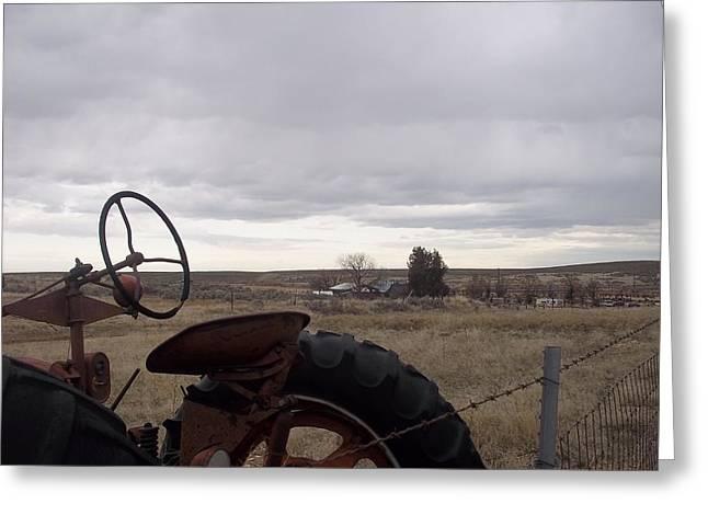 Farm Greeting Card by Angela Stout