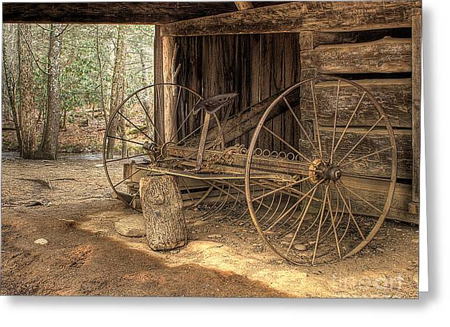 Farm Equipment Greeting Card