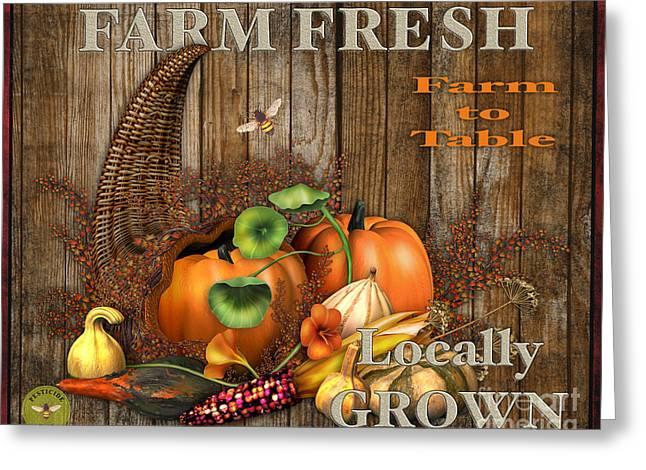 Farm Fresh-jp2131 Greeting Card