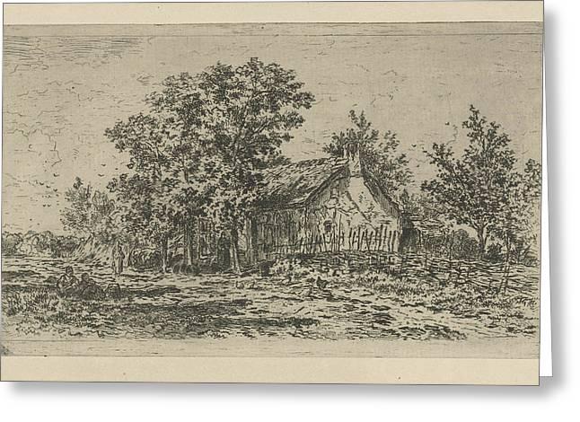 Farm, Jan Van Lokhorst Greeting Card