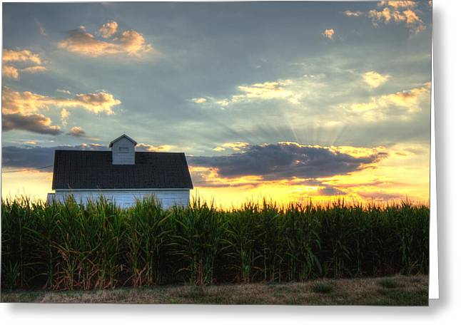 Farm-scape Greeting Card