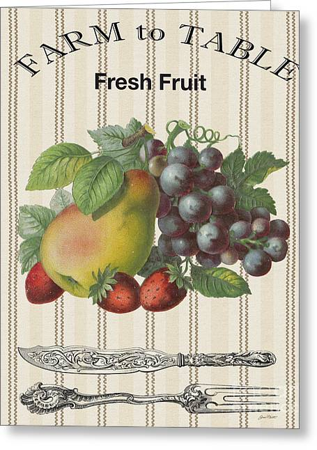 Farm To Table-jp2117 Greeting Card