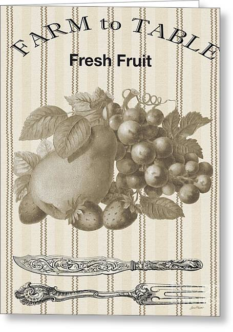 Farm To Table-jp2118 Greeting Card