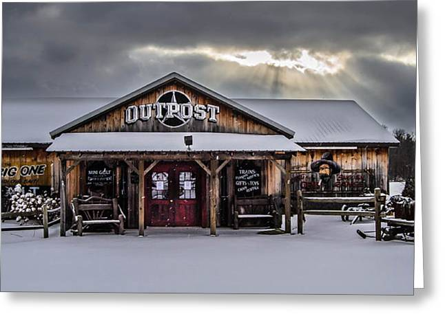 Farmers Inn Outpost Greeting Card