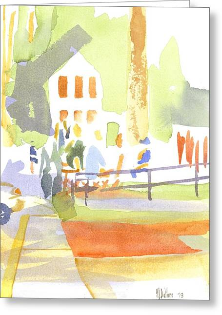 Farmers Market II  Greeting Card by Kip DeVore