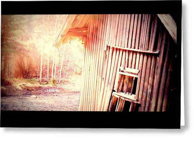 There Will Be A New Morning At The Old Farm And We Will Be There  Greeting Card