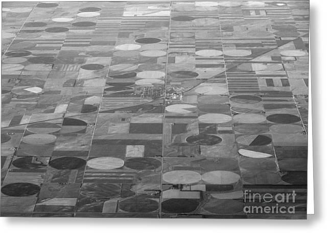 Farming In The Sky Greeting Card
