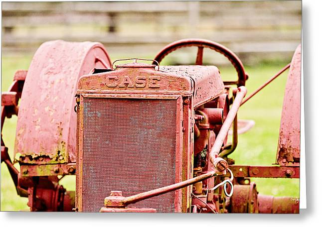 Farming Relic Greeting Card by Scott Pellegrin