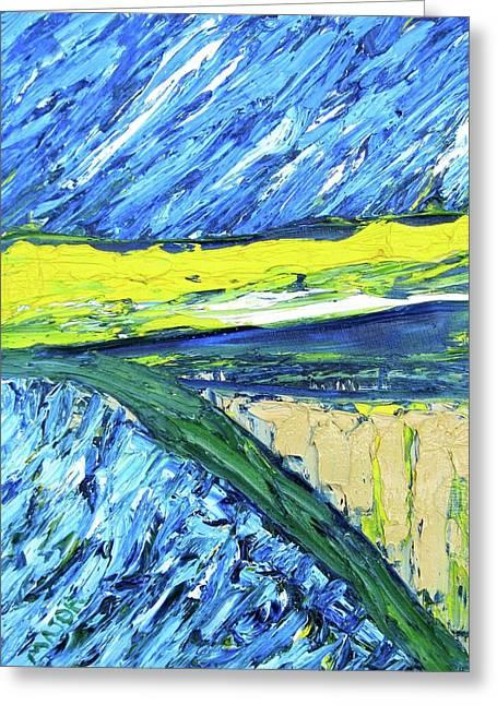 Farmland At Road One Thirteen Greeting Card