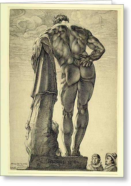 Farnese Hercules Greeting Card
