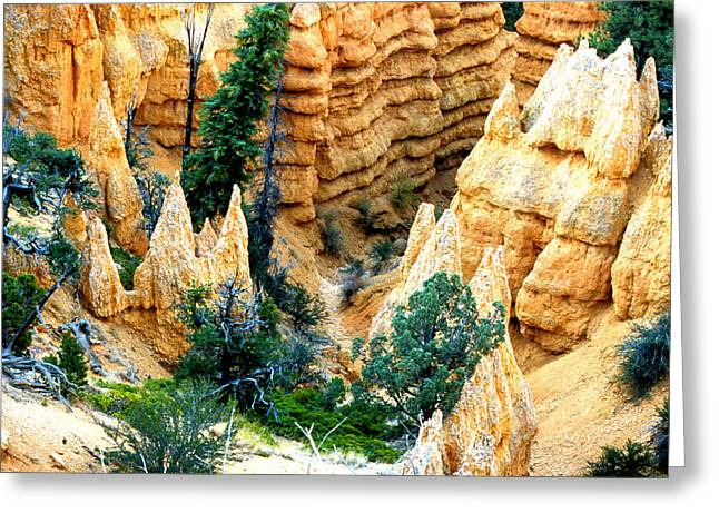 Faryland Canyon Bryce Canyon National Monument Greeting Card