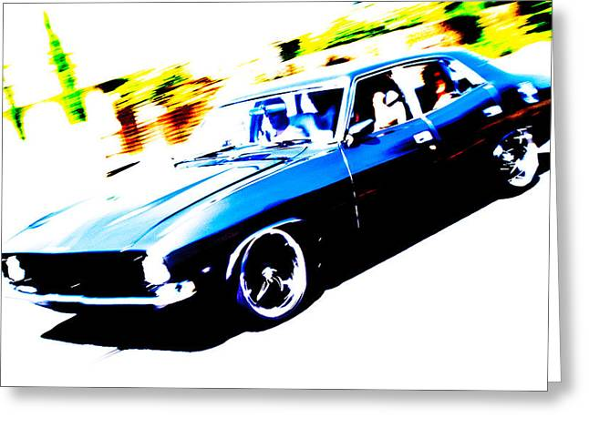 Fast Ford Falcon Greeting Card by Phil 'motography' Clark