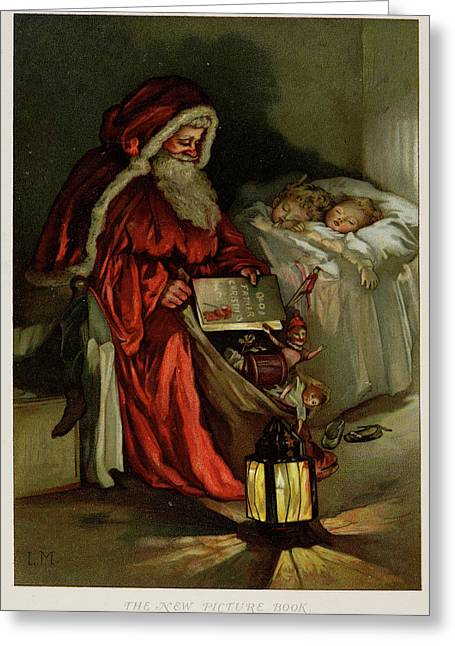 Father Christmas Greeting Card by British Library