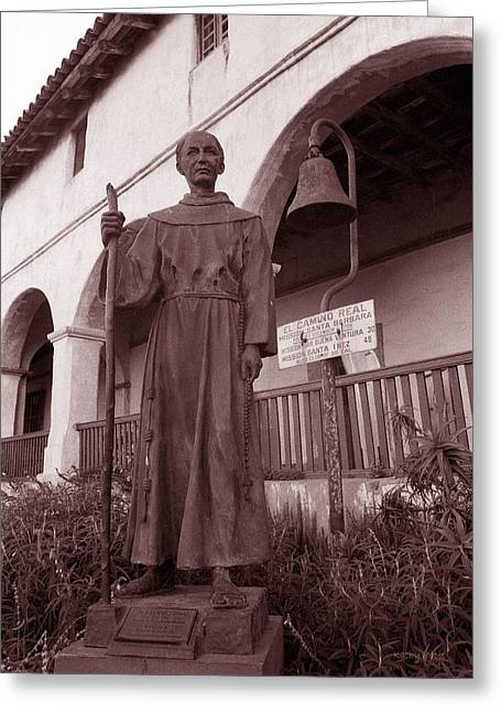 Father Junipero Serra Greeting Card