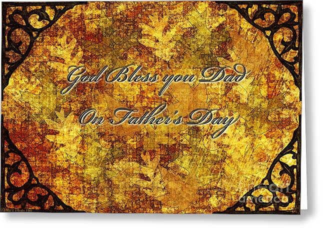 Father's Day Greeting Card IIi Greeting Card by Debbie Portwood