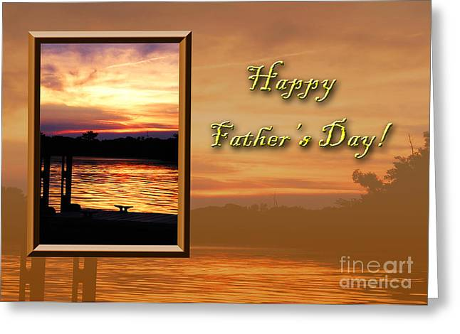 Father's Day Pier Greeting Card by Jeanette K